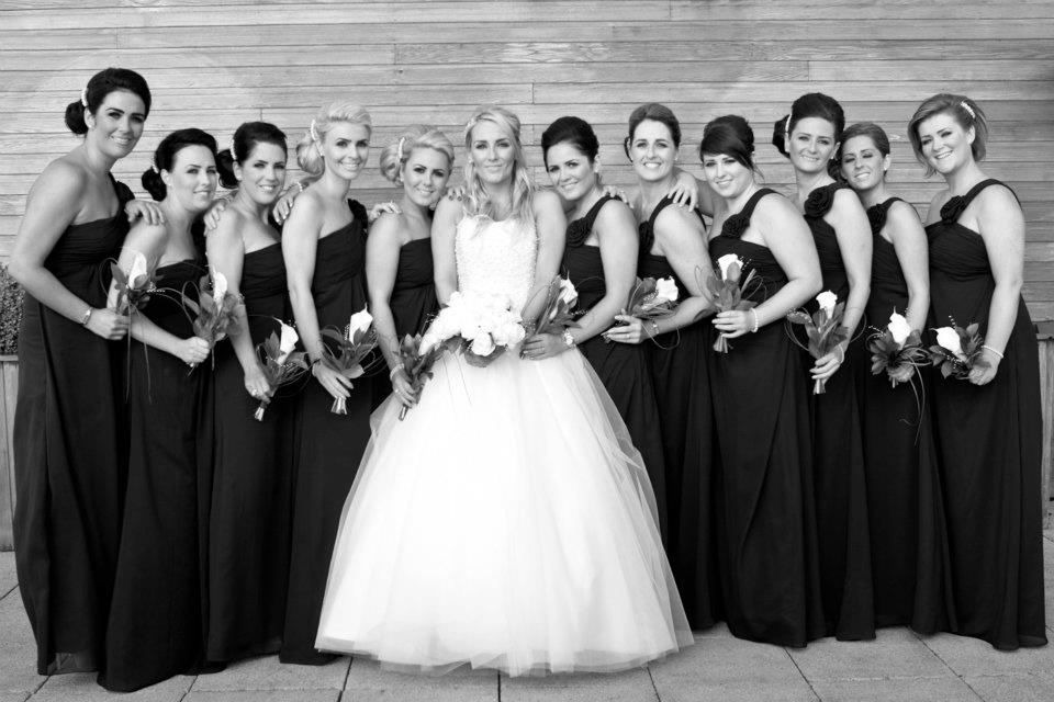 How Many Is Too Many? Meet Laura & Her 11 Bridesmaids