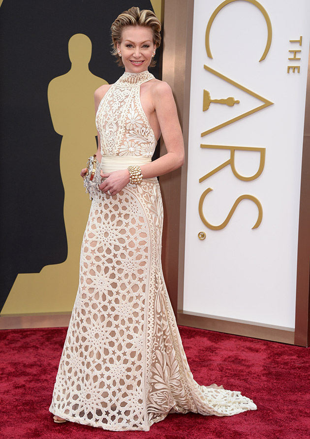 Which of our top 10 oscars white gown looks inspires you for Portia de rossi wedding dress